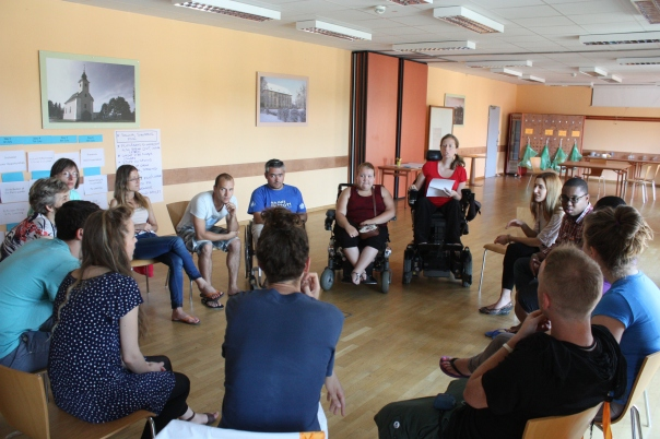 Behind the youth work Seminar July 2014